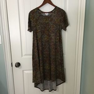 LulaRoe Jersey Dress in African Print - Fits M